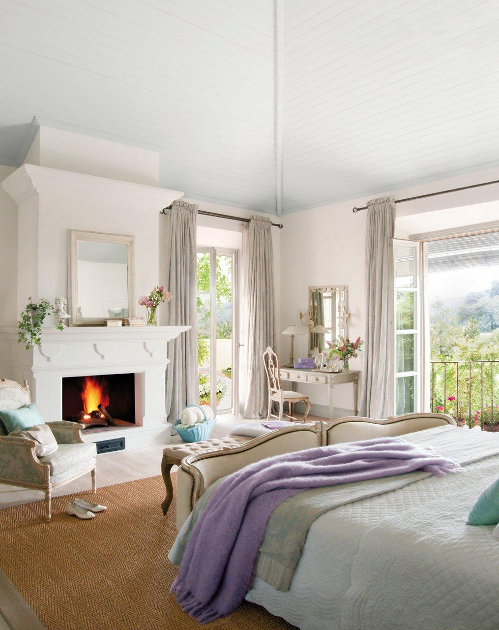 Dormitorios para disfrutar tambi n de d a - Dormitorio con encanto ...