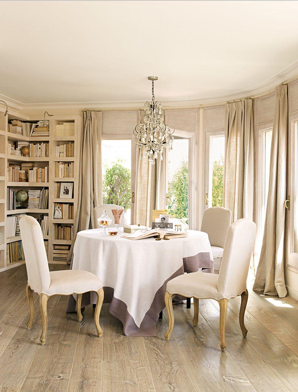 Consejos para decorar el comedor for Comedor hexagonal
