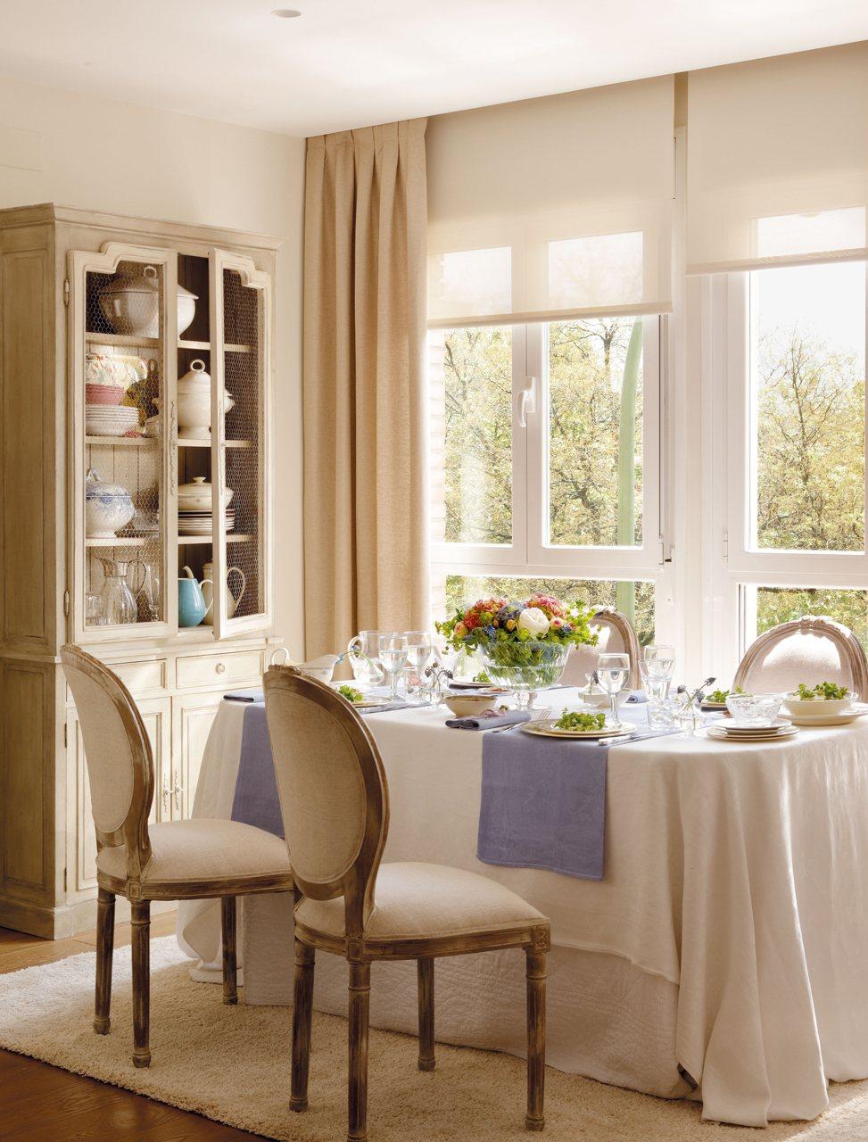 Consejos para decorar el comedor - Muebles para vajilla ...