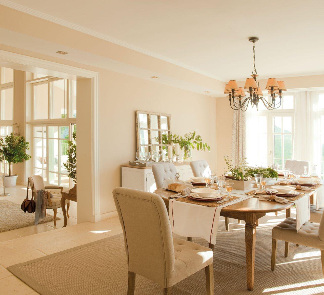 Consejos para decorar el comedor for Imagenes muebles comedor