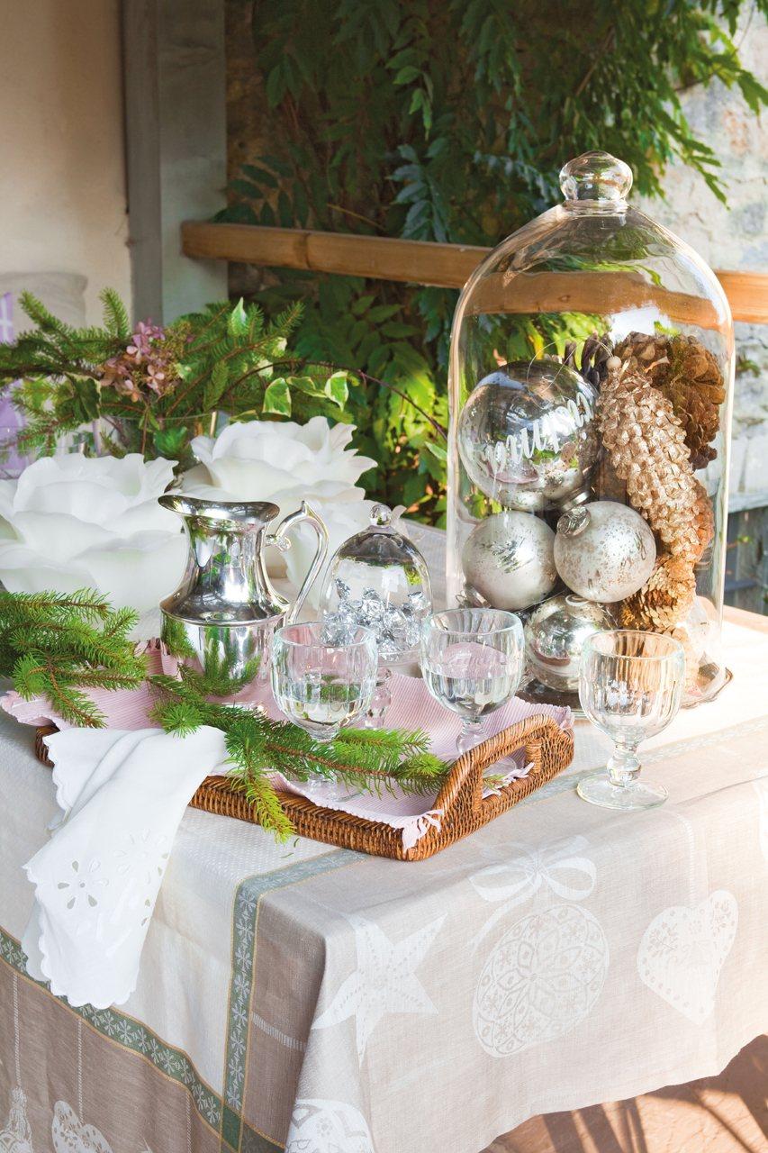 La decoraci n de una fiesta de fin de a o en una casa de campo - Casa para fin de ano malaga ...