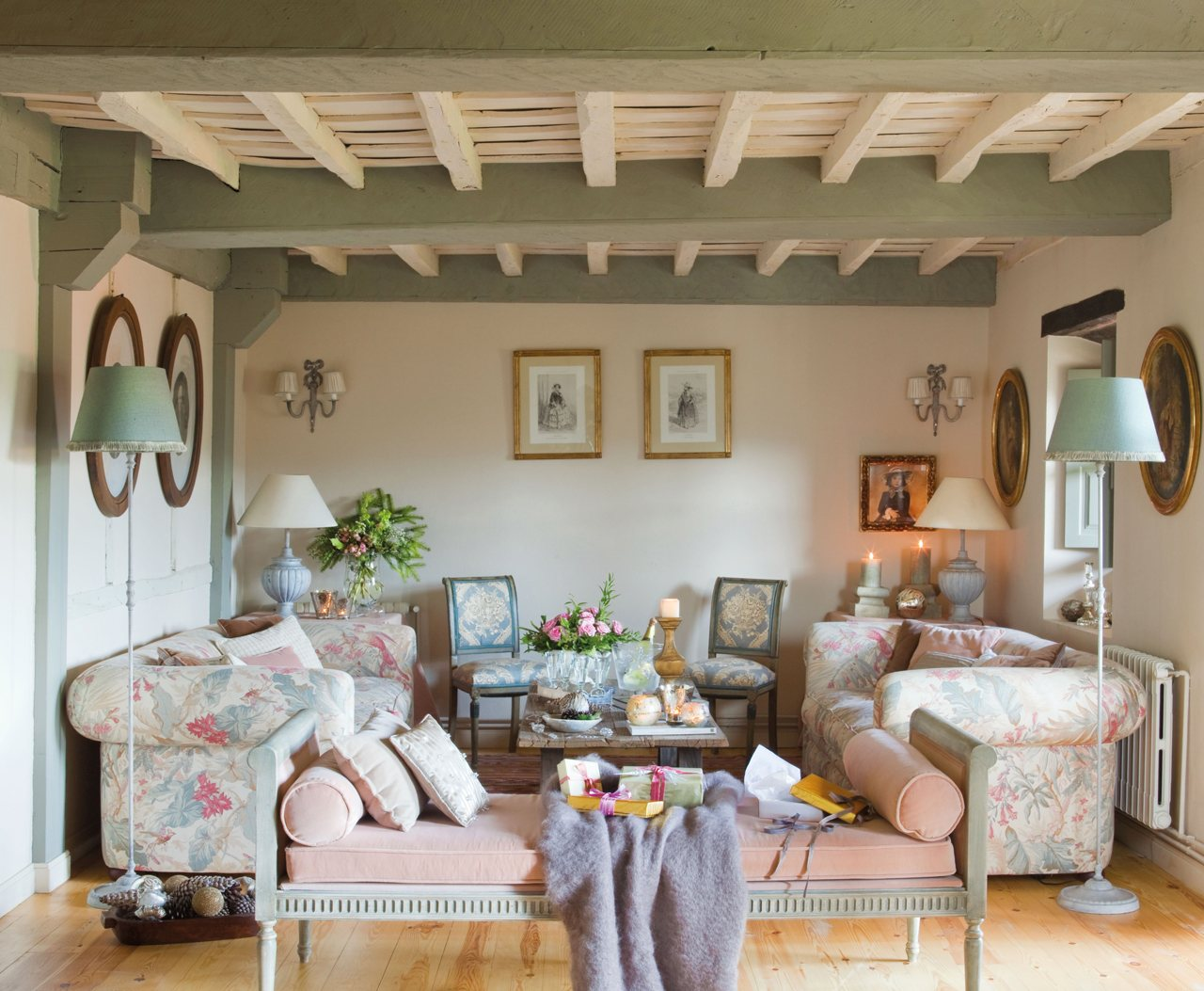 La decoraci n de una fiesta de fin de a o en una casa de campo - Casa y campo decoracion ...