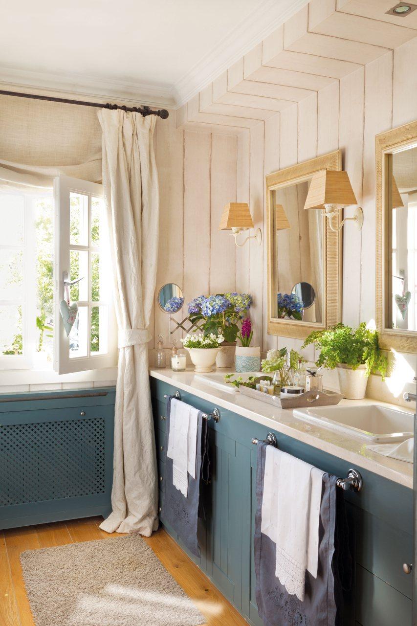 Dormitorios con vestidor y ba o Banos pequenos pintados