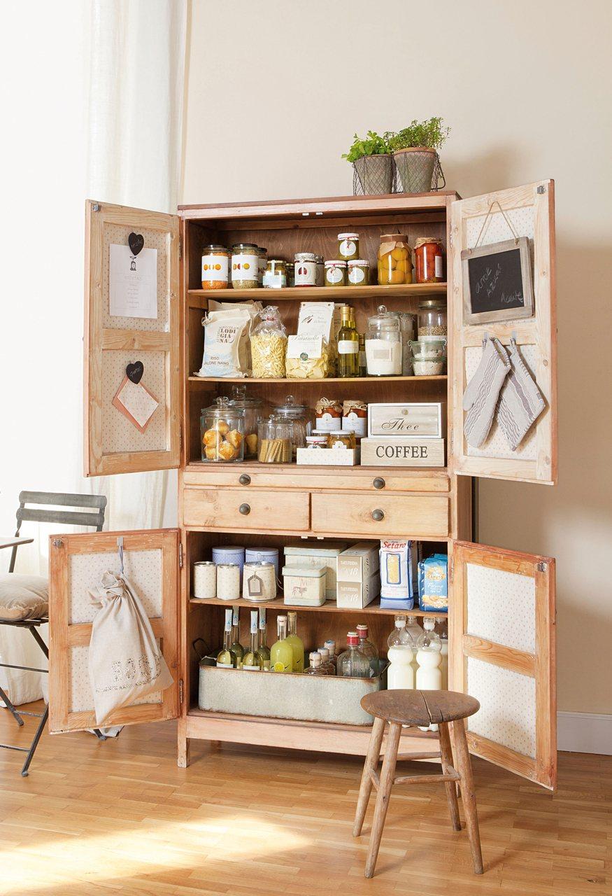 Ideas para ordenar toda la casa - Alacena cocina ...
