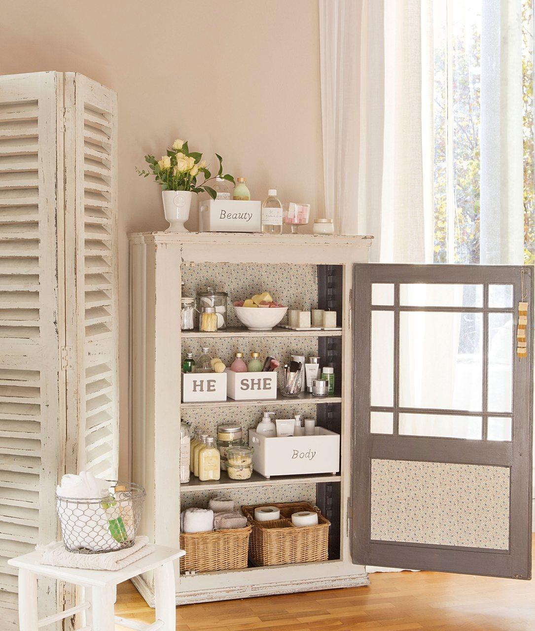 Ideas para ordenar toda la casa - Armario para el bano ...