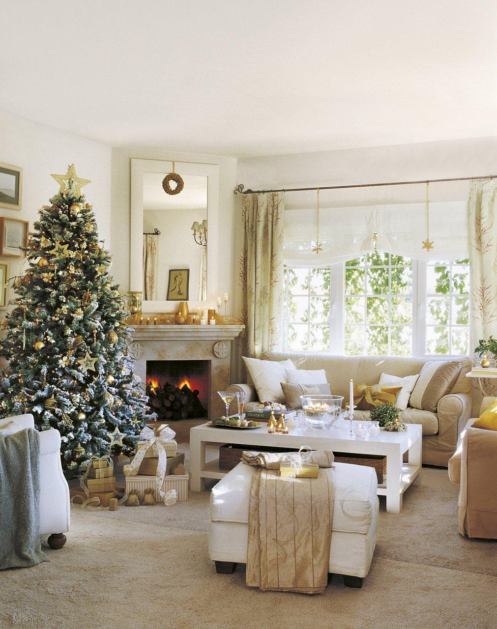 Claves para ser la perfecta anfitriona - Salones decorados para navidad ...