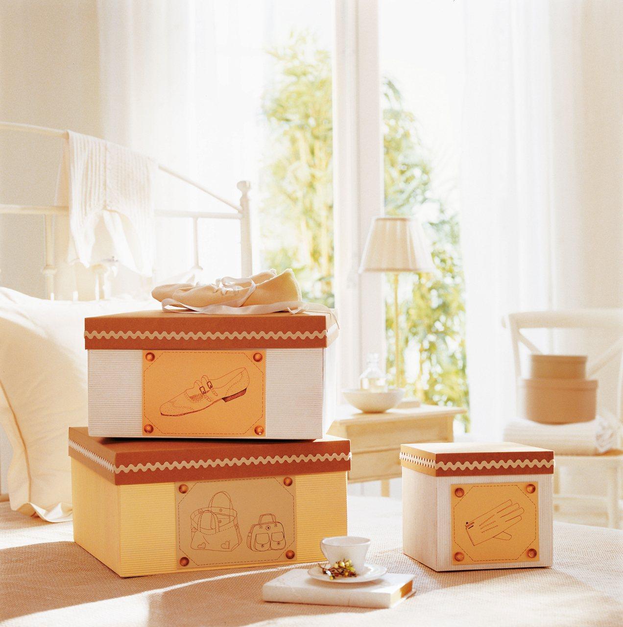 Cajas y cestos c mo ordenar las cosas peque as de casa for Cajas decorativas para almacenar