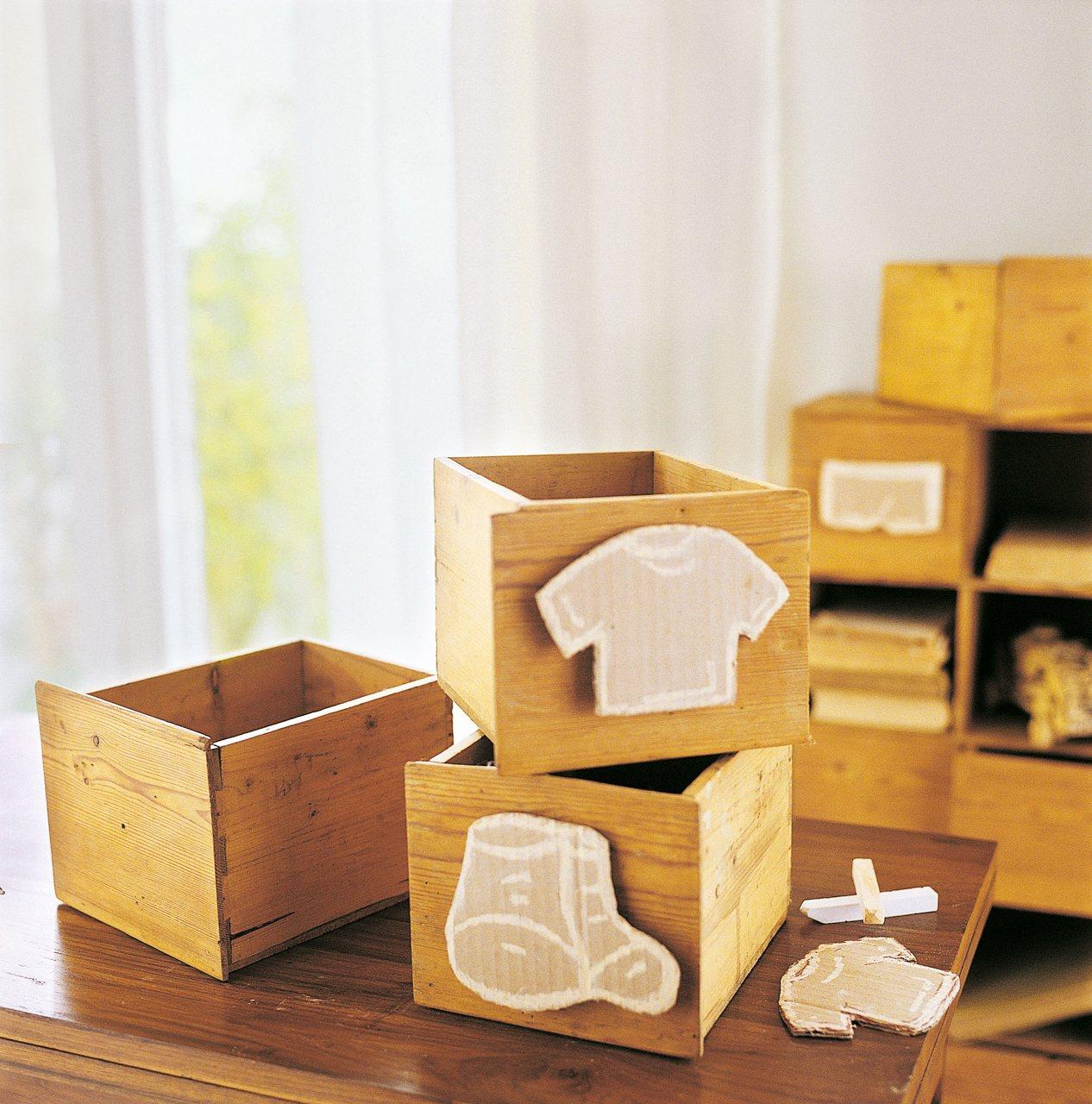Cajas y cestos c mo ordenar las cosas peque as de casa for Cajas carton almacenaje