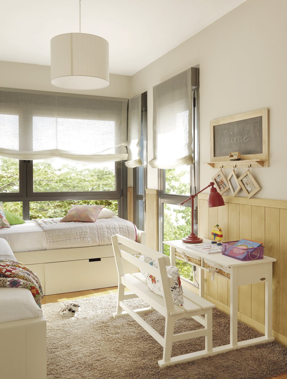 Ideas creativas para decorar un cuarto infantil for Habitacion 3 ninos