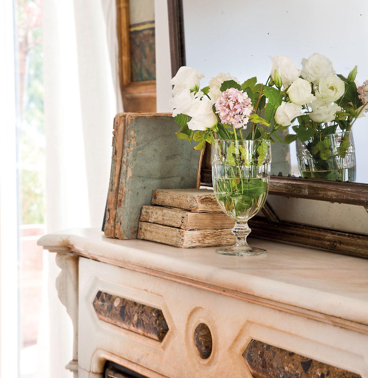 Objetos antiguos para decorar la mezcla de muebles y for Objetos para decorar cocinas