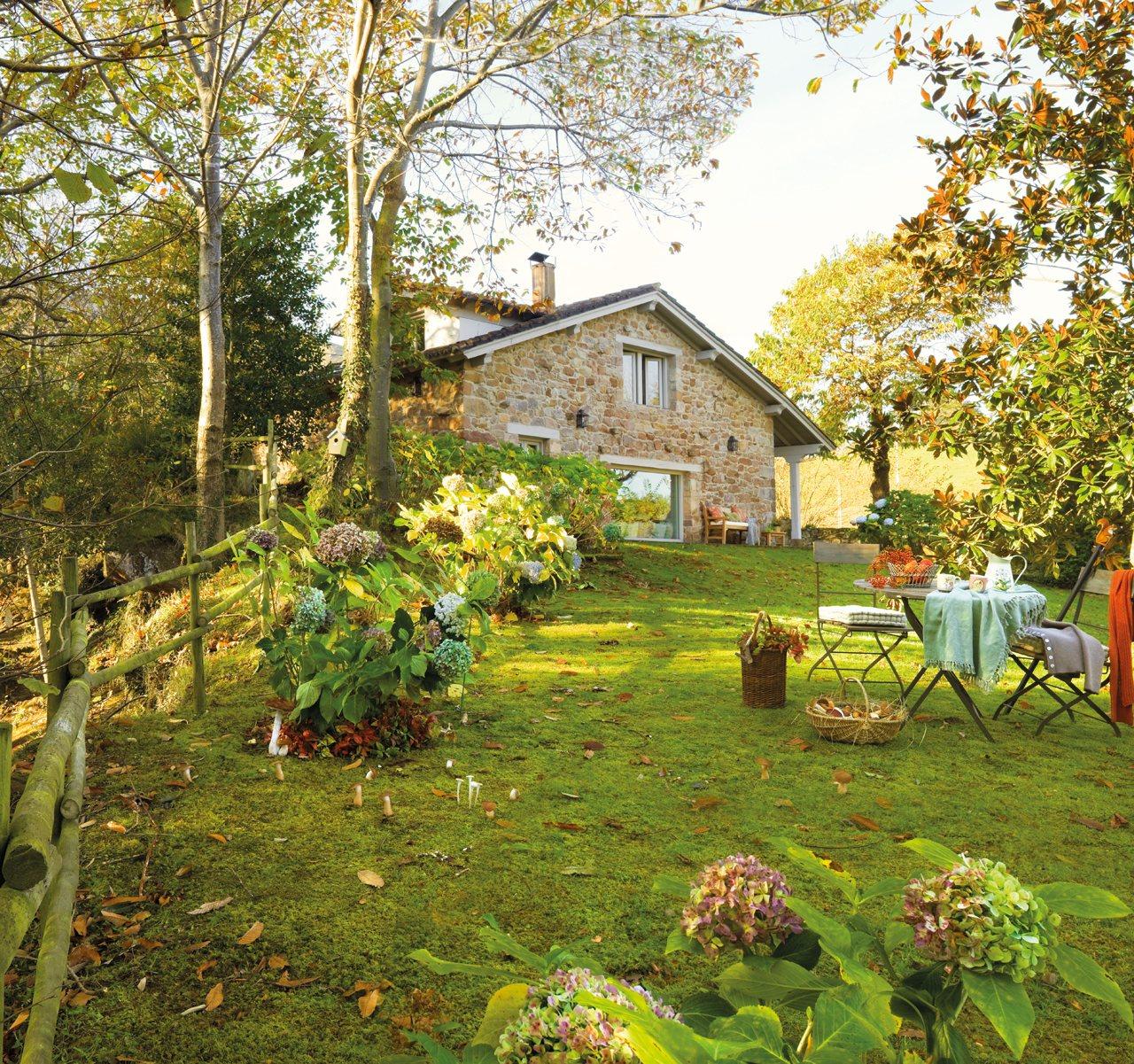 Casas como las de los cuentos for Jardin en casa
