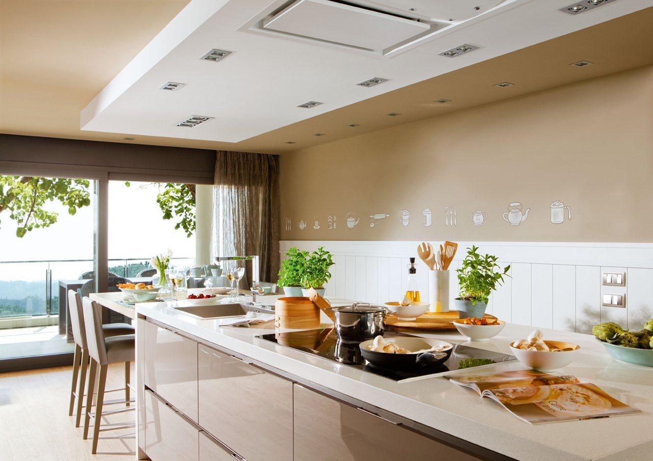Cocinar con vistas for Cocinas con islas en medio