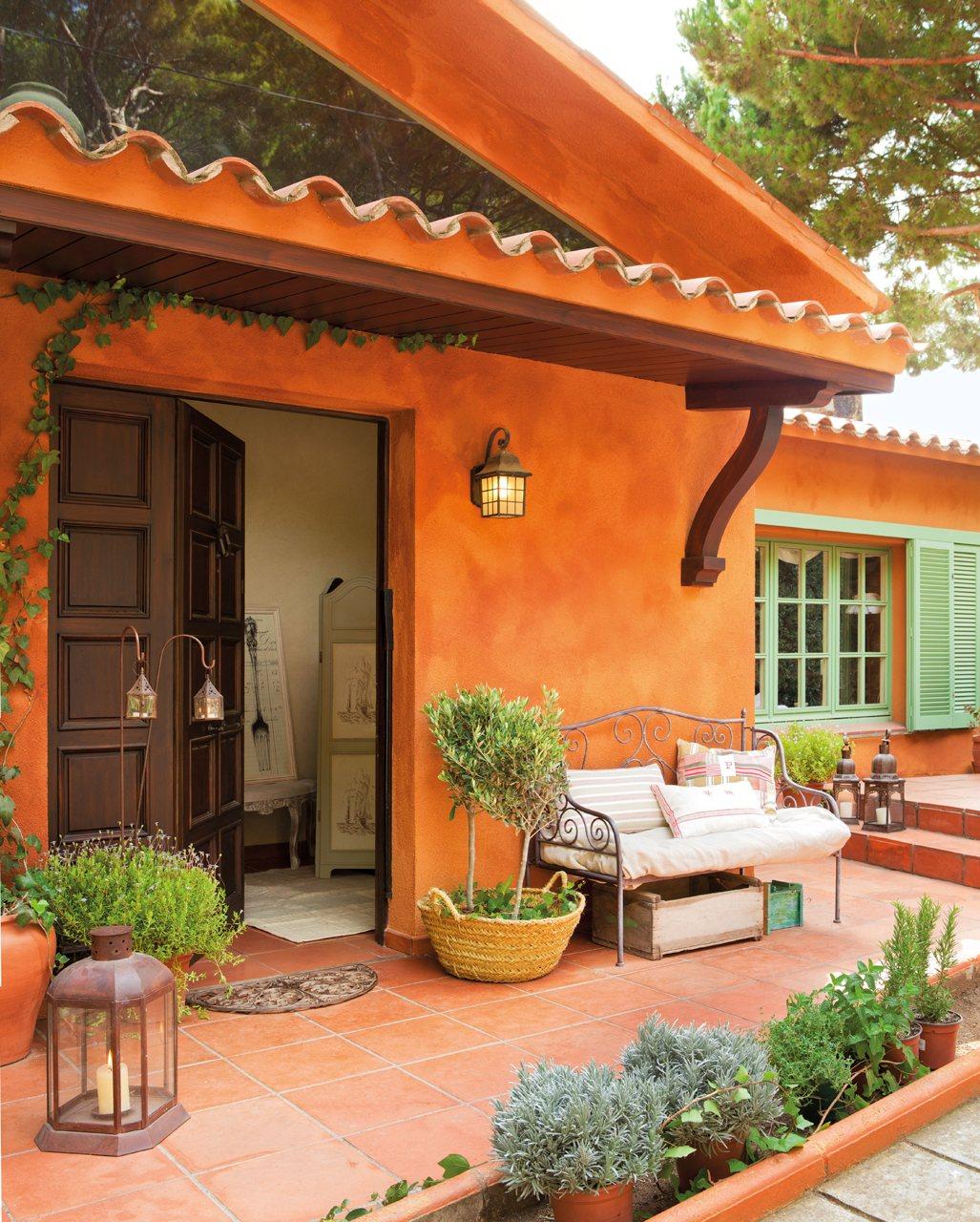 Rase una vez como en la provenza francesa - Casas color verde ...