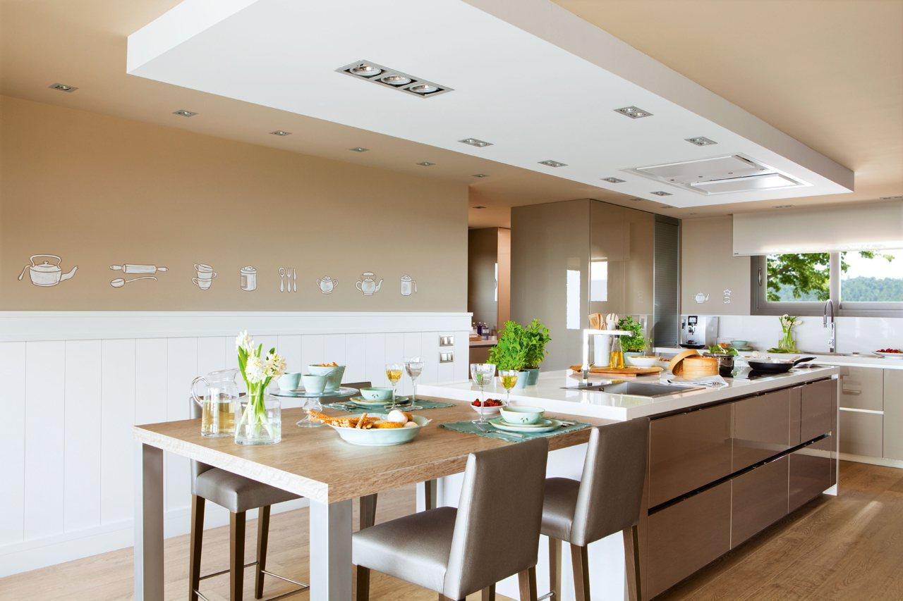 Cocinar con vistas - Cocina office ...
