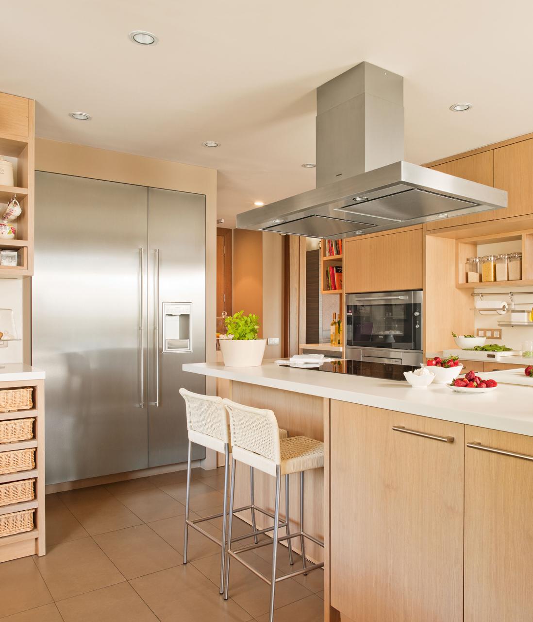 El abc de la casa ecol gica for Cocina tipo americana