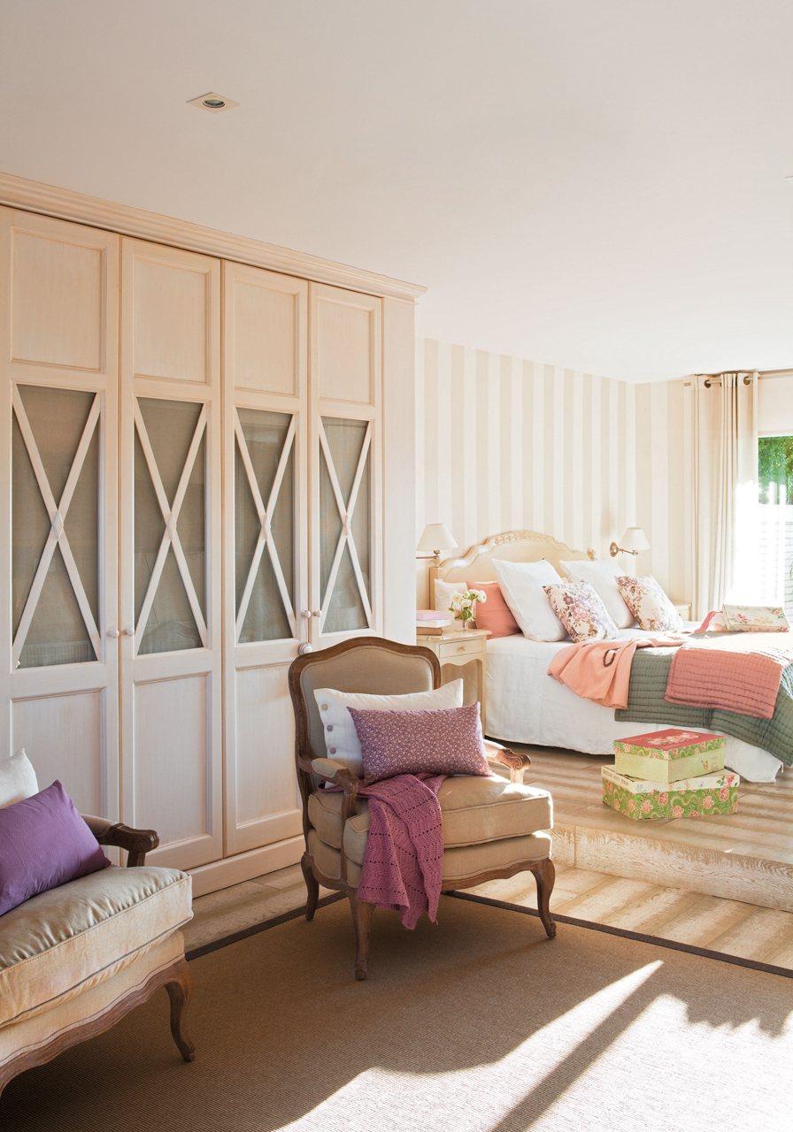 El armario perfecto for Cortinas para puertas de armarios