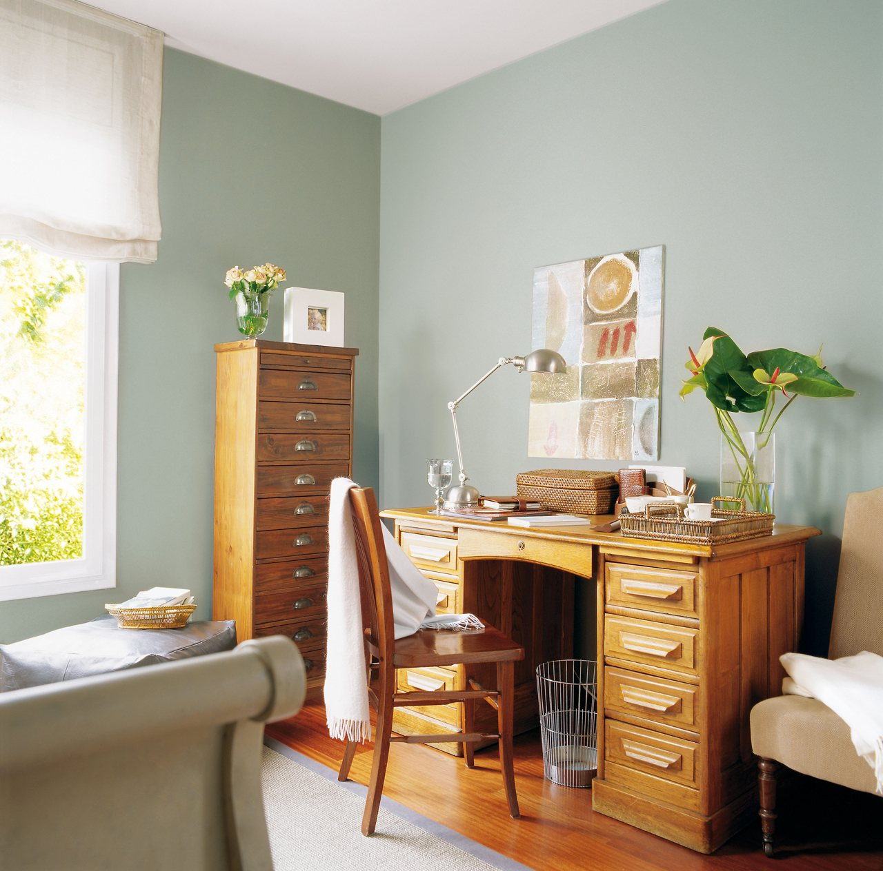 Muebles de roble restaurados for Muebles de roble