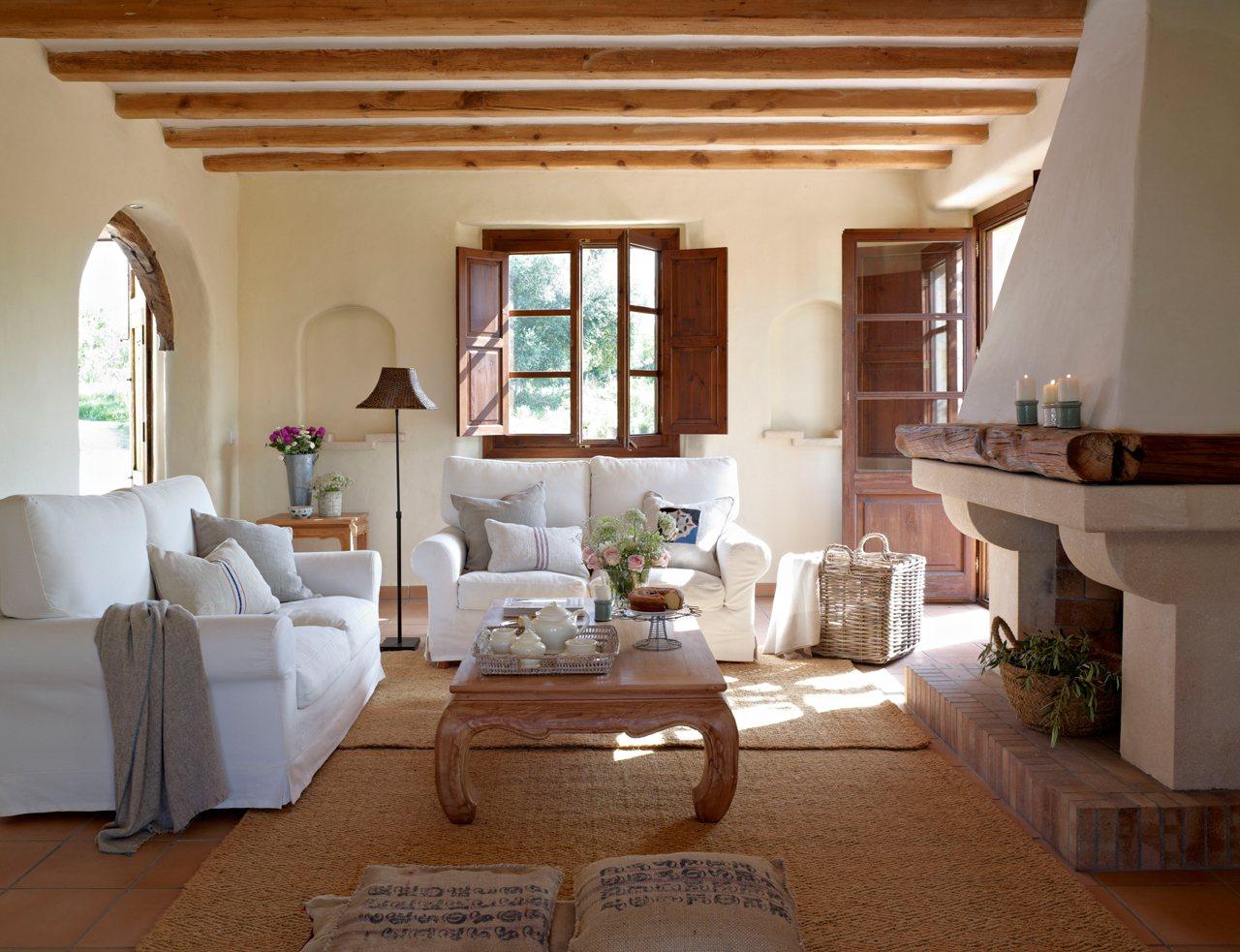 15 salones con chimenea para el invierno - Chimeneas en mallorca ...