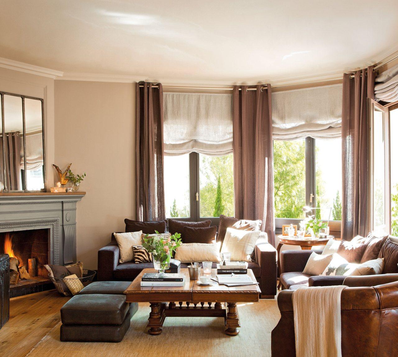 Que frio abriga tu hogar el rinc n de mila - Decoracion para salones de casa ...