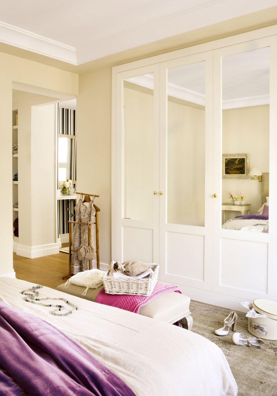 Ideas para espacios peque os - Armarios con espejo para dormitorio ...