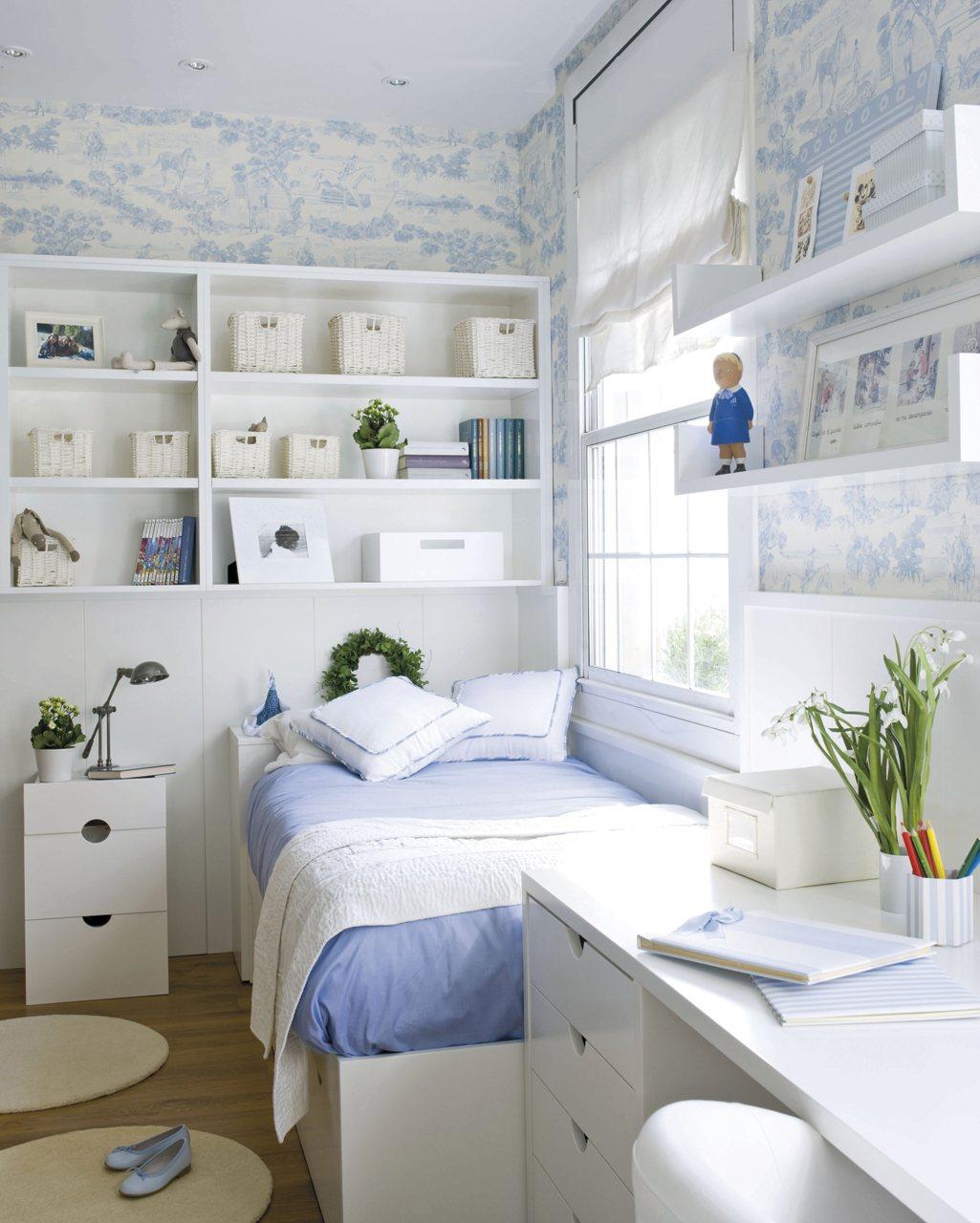 Cinco habitaciones de ni os solucionadas a medida - Muebles infantiles para habitaciones pequenas ...