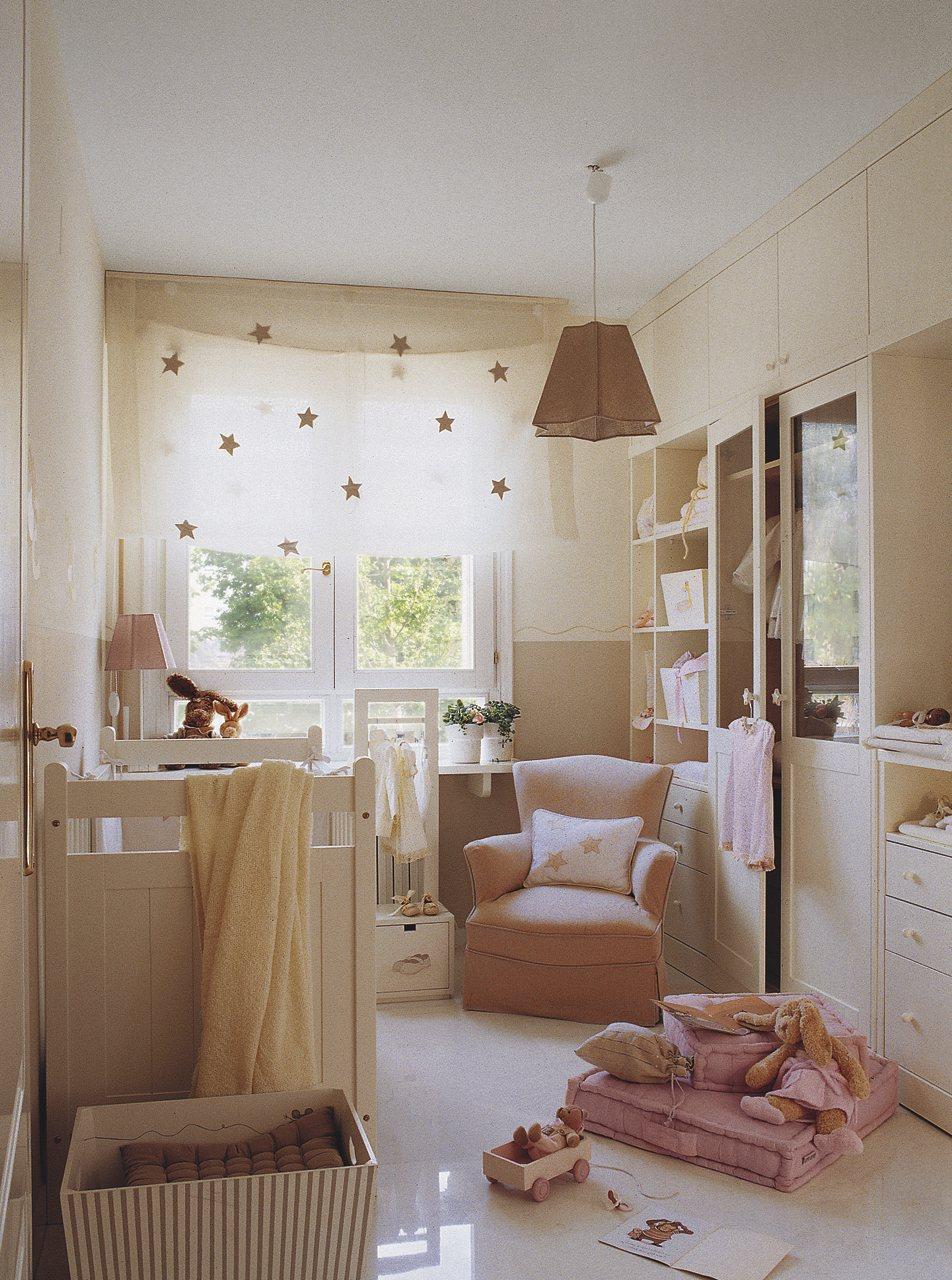 Cinco habitaciones de ni os solucionadas a medida - Habitaciones de bebe nino ...