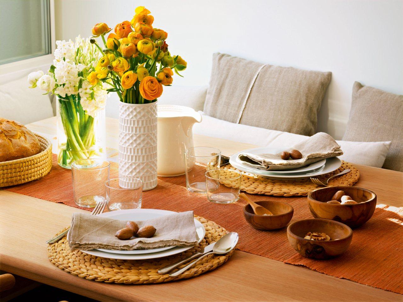 Una cocina c lida donde reunir a la familia - Caminos de mesa ikea ...