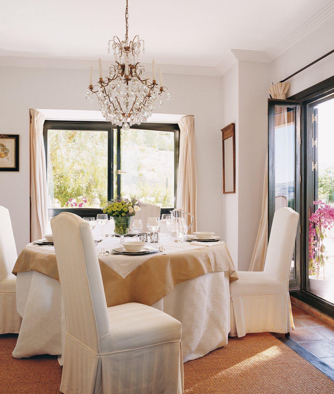 El poder de los peque os detalles - Fundas asiento sillas comedor ...