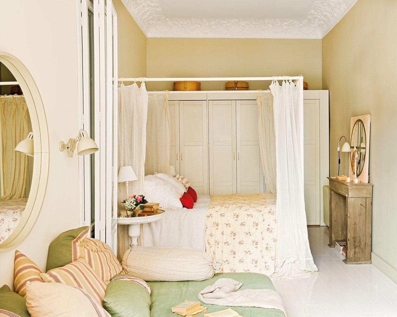 Dormitorio principal desde el chillout. Desde el chill-out