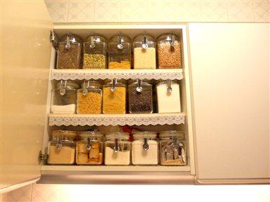 Orden en la cocina salones grises y dormitorios peque os - Orden en la cocina ...