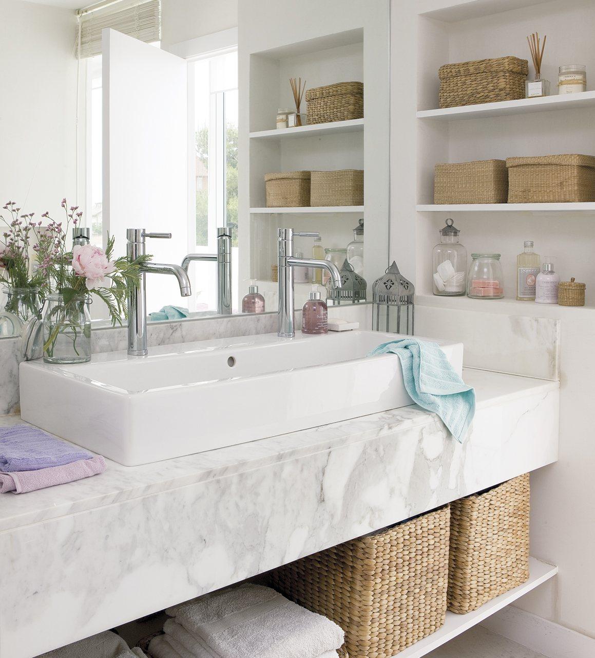 Muebles de ba o sin quitar lavabo for Muebles para bano
