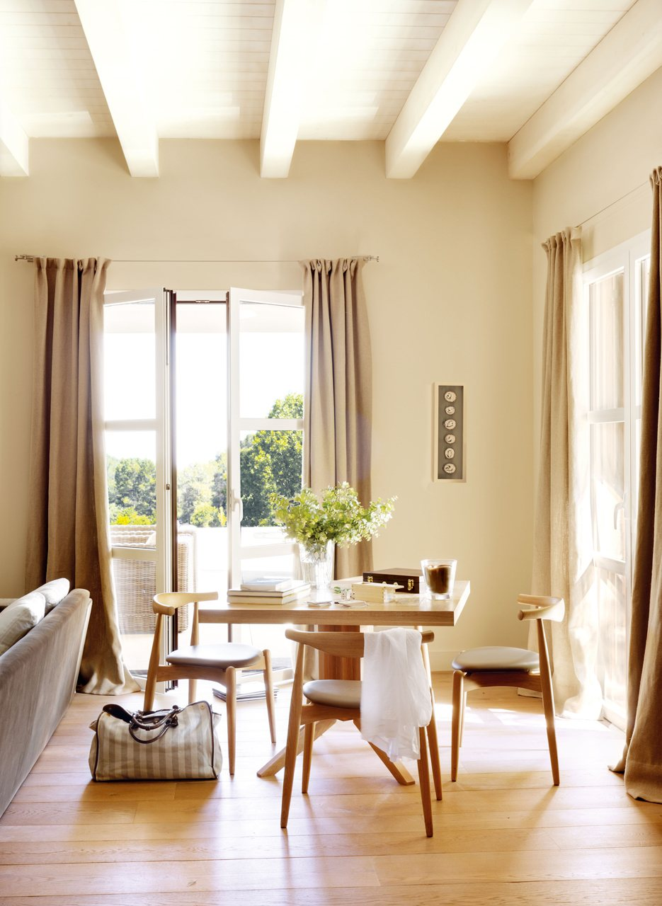 10 piezas m gicas para renovar la casa for Cortinas de salon comedor