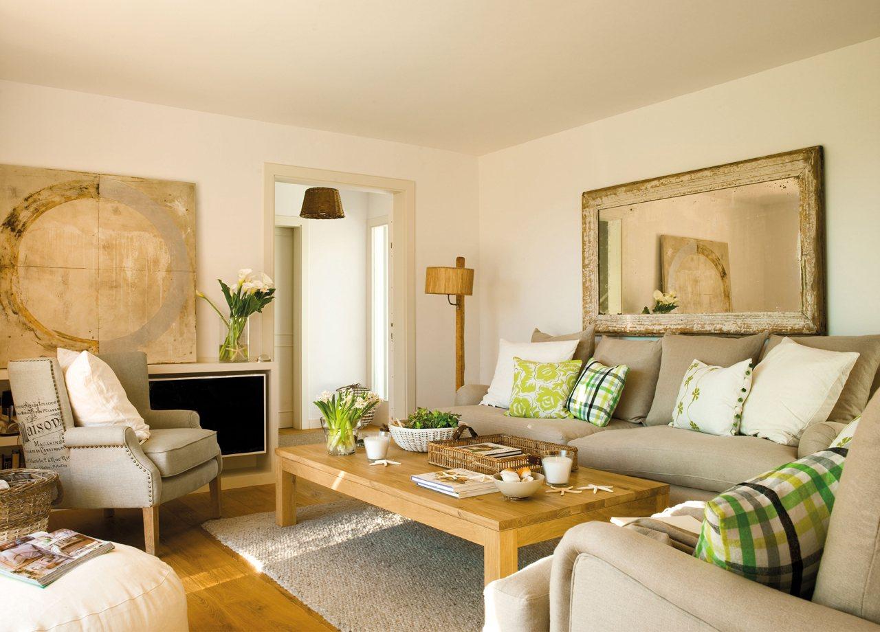 10 piezas m gicas para renovar la casa for Espejos en el salon
