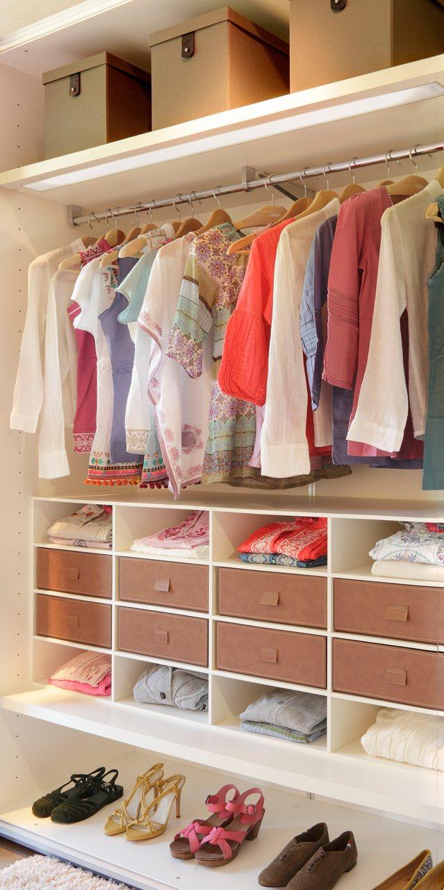 Cambio de armario: cómo guardar la ropa de invierno