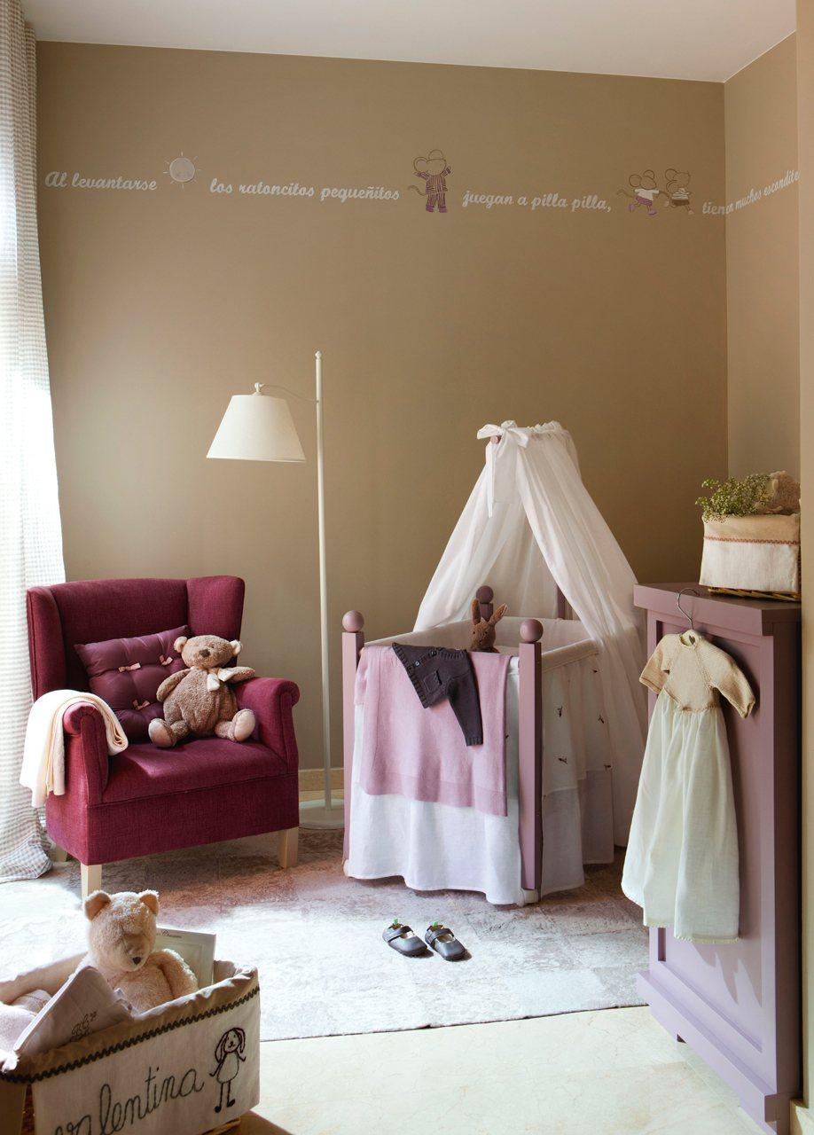 La primera habitaci n del hijo - Habitaciones infantiles rusticas ...