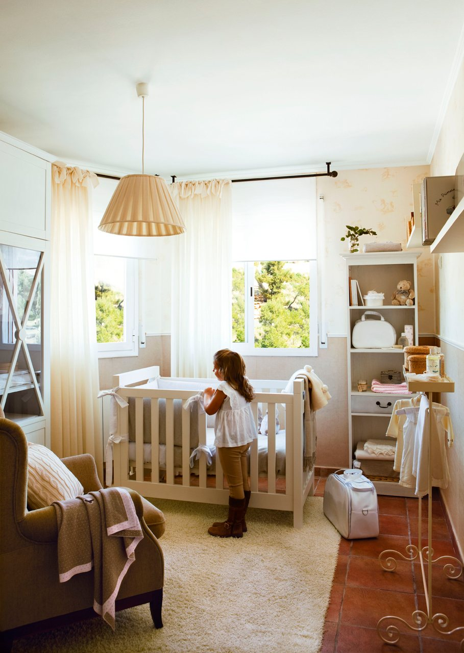La primera habitaci n del hijo - Habitacion infantil nina ...