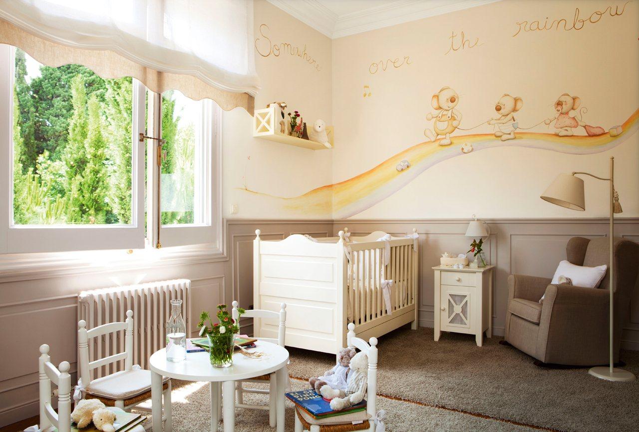 La primera habitaci n del hijo - Pintar habitacion infantil nino ...