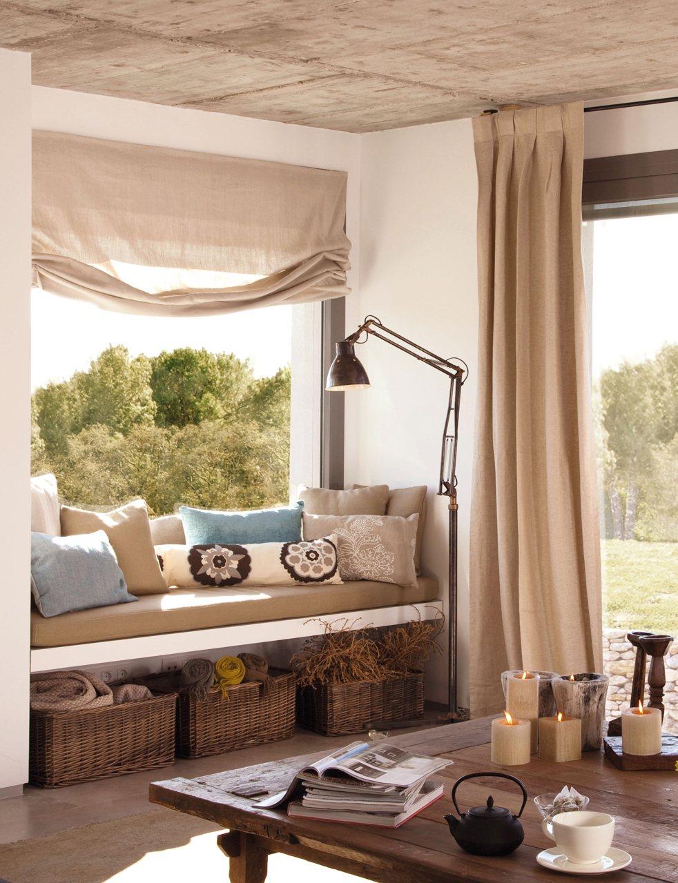Aprovecha las ventanas y tendr s espacio extra for Como hacer un bando para cortinas