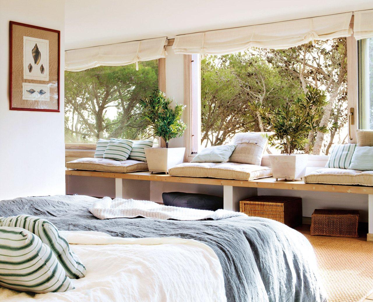 Aprovecha las ventanas y tendr s espacio extra - Bancos para dormitorio matrimonio ...