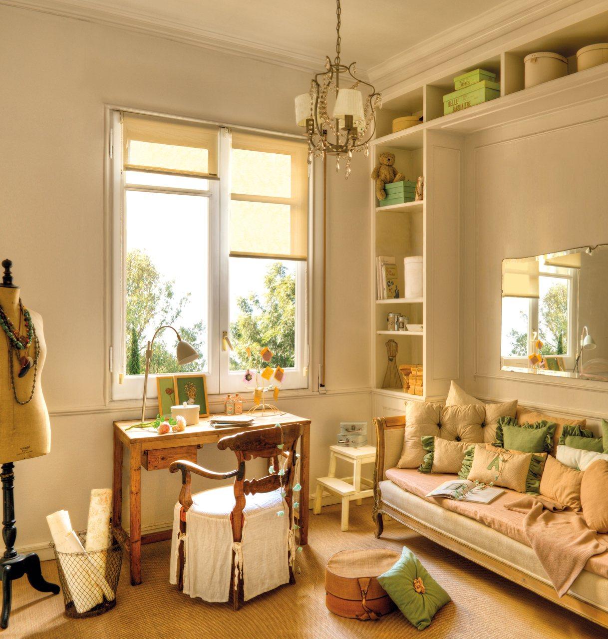 Ideas low cost de una estilista para renovar un piso con - El mueble decoracion dormitorios ...