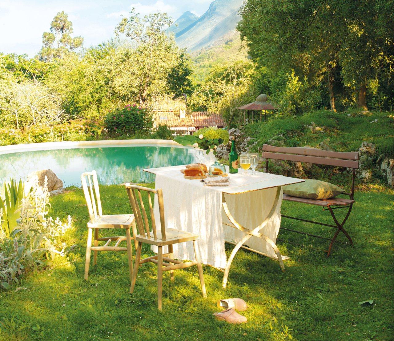 Las claves de 4 expertos para crear un jard n ideal Piscina natural jardin