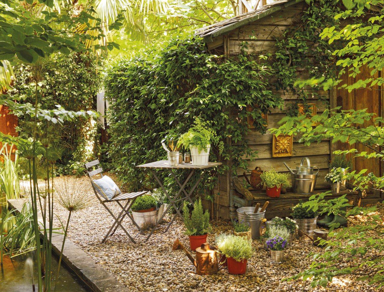 elegant fcil de mantener y frondoso with como disear un jardin grande