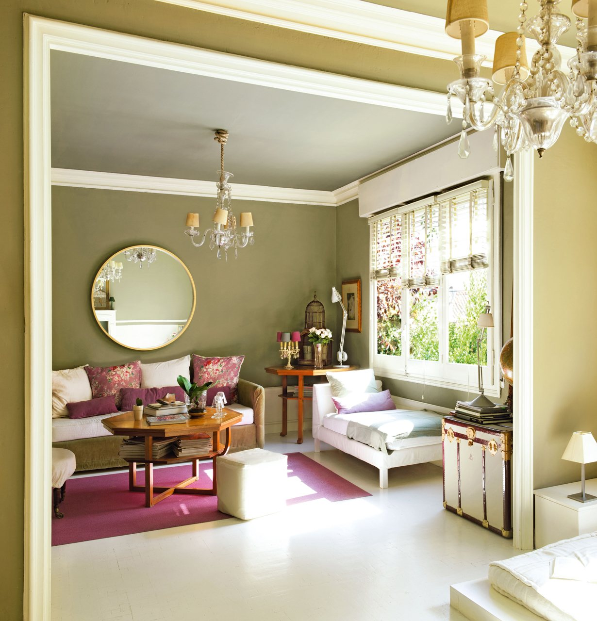 Ideas low cost de una estilista para renovar un piso con - Color para el salon ...