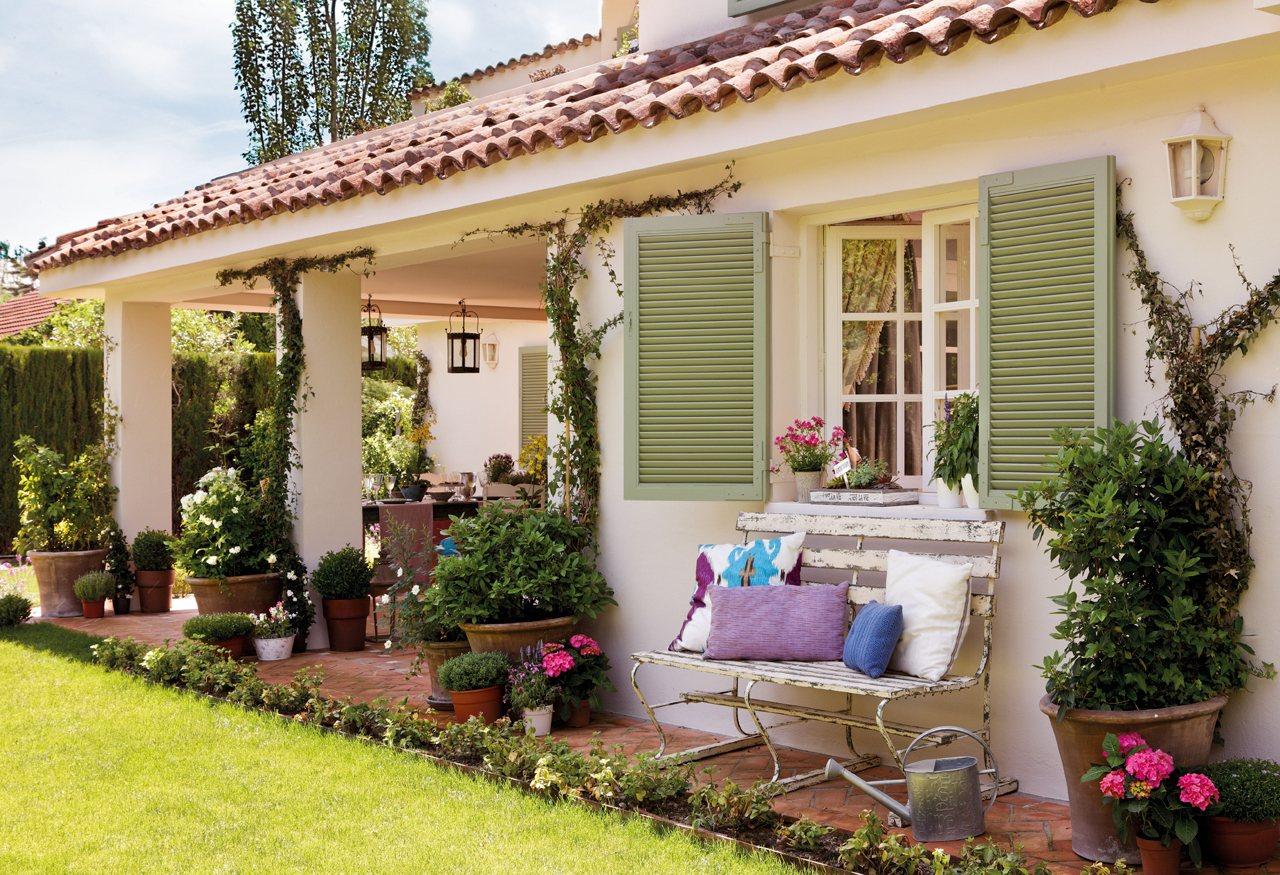 Una finca cl sica en las afueras de madrid - La casa vintage ...