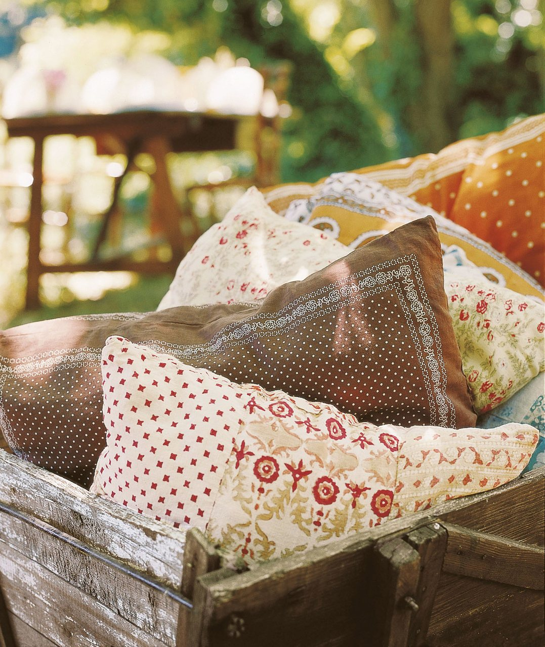 Cojines exteriores decoracion de exteriores muebles modernos rattan toldos sof de palets wengu - Cojines exterior ...