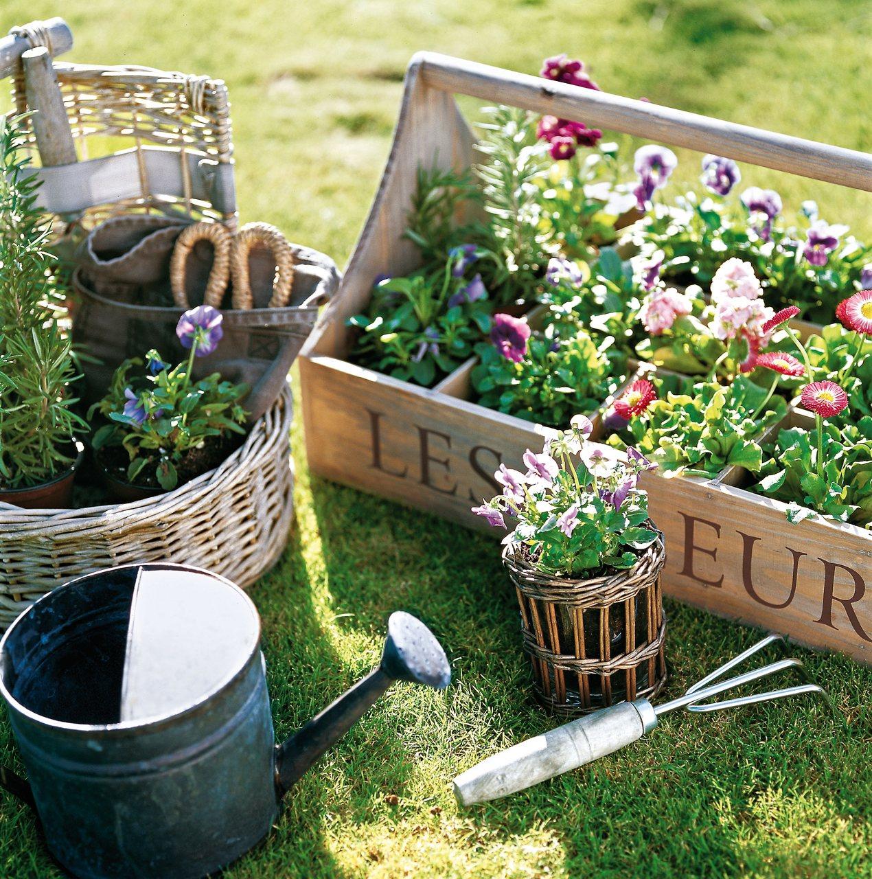 Saca partido a una terraza peque a - Jardin en terraza pequena ...