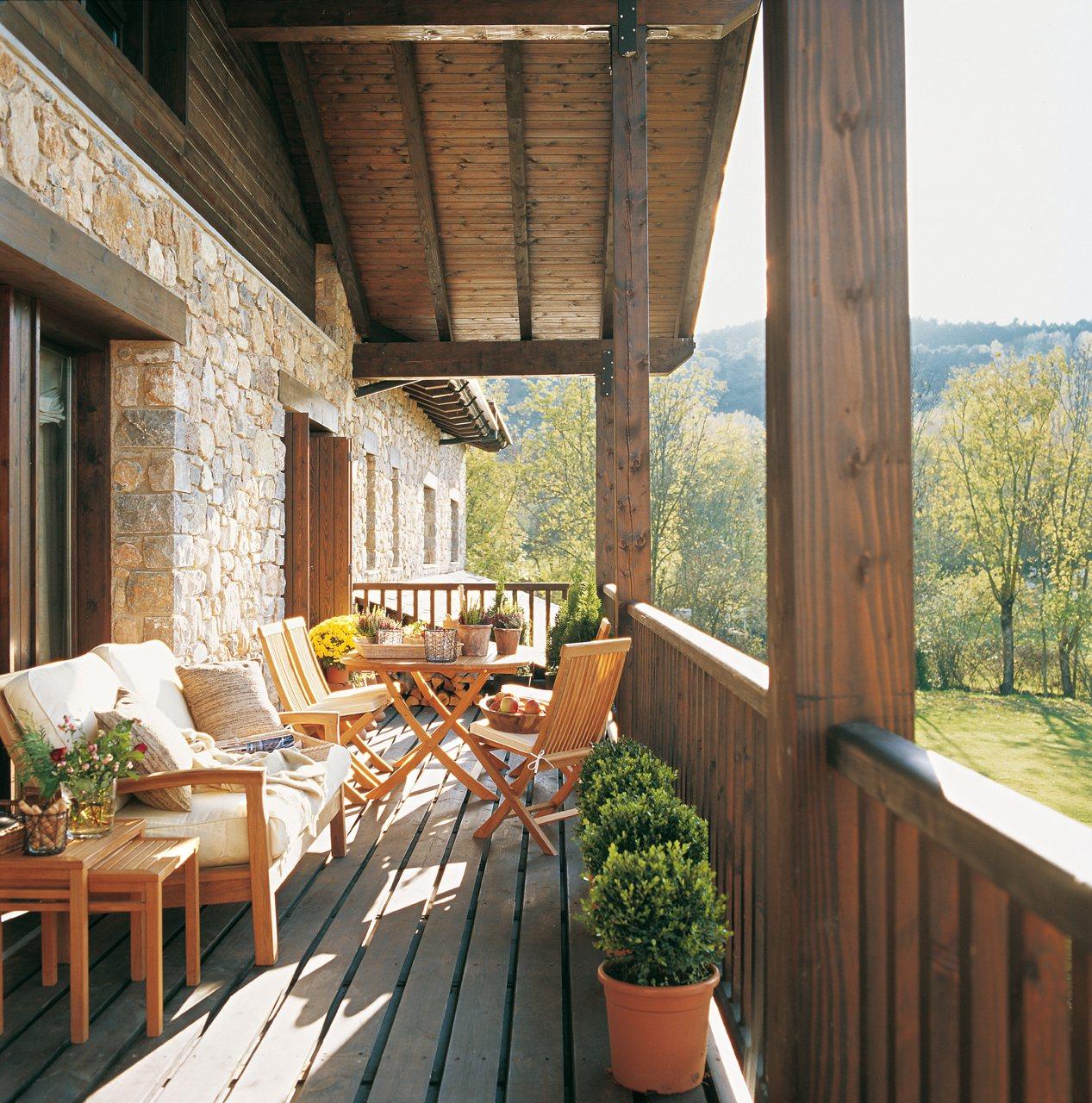 Saca partido a una terraza peque a for Ideas para terrazas rusticas
