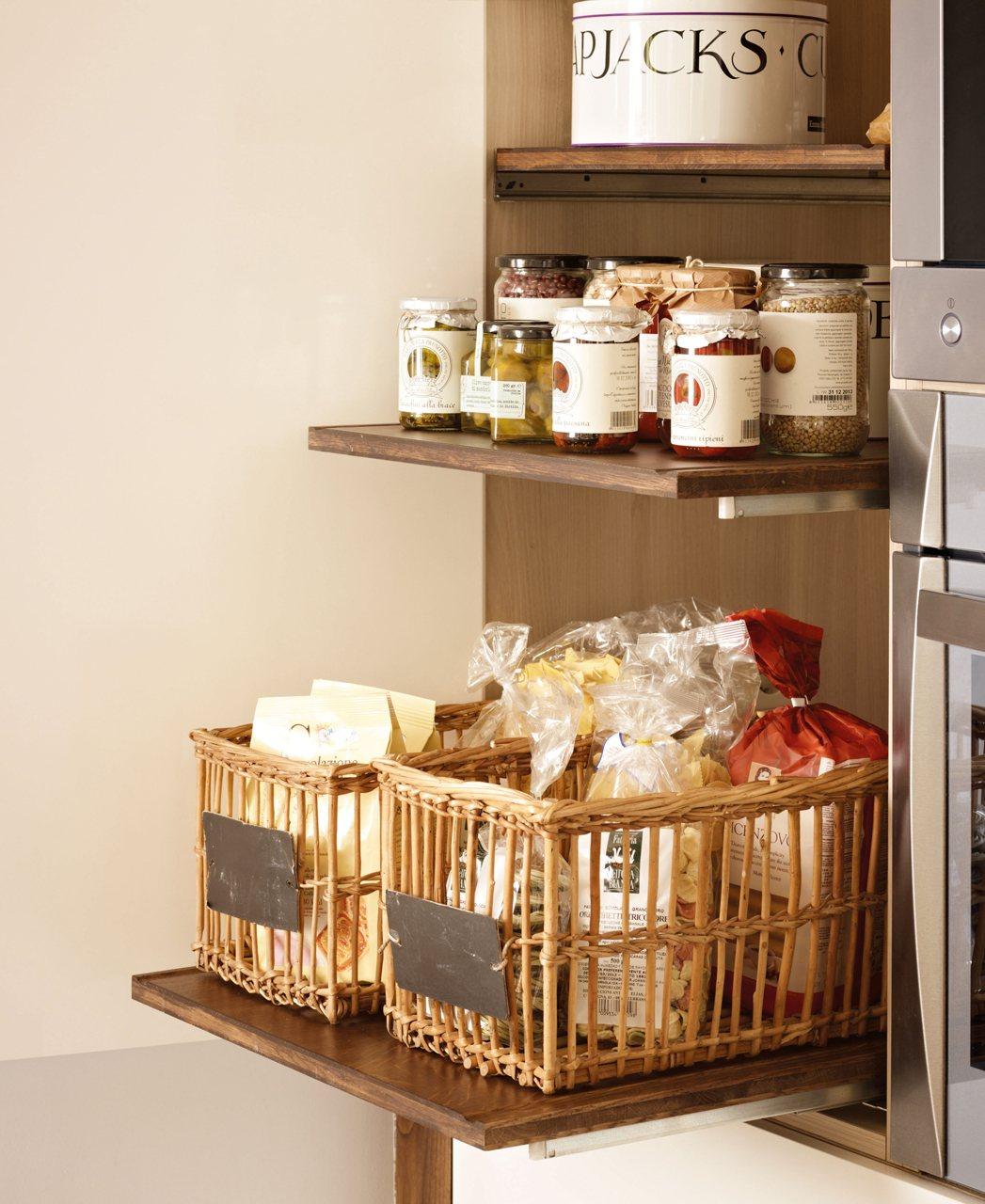 10 ideas para pisos peque os - Armarios de cocina altos ...