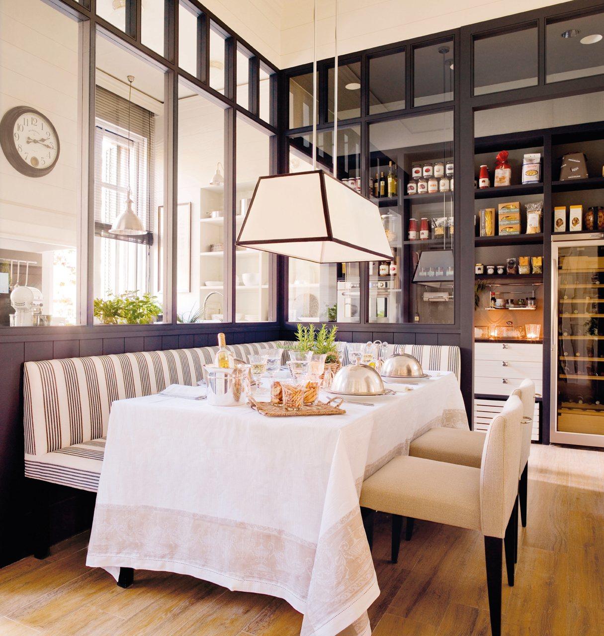10 ideas para pisos peque os for Comedor funcional