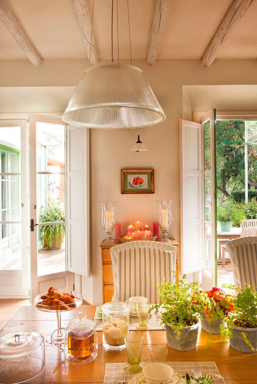C mo decorar una cocina de casa de campo for De decorar casas